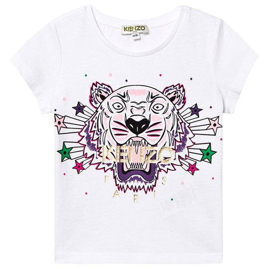 Kenzo Tiger Tee Optic White 01