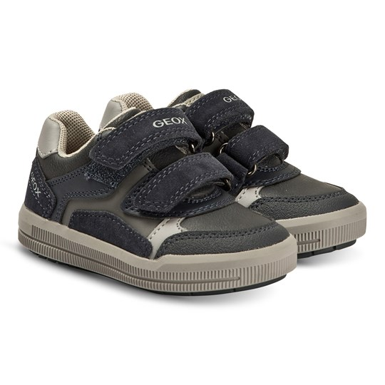 Geox Arzach Sneakers Navy and Grey C0661