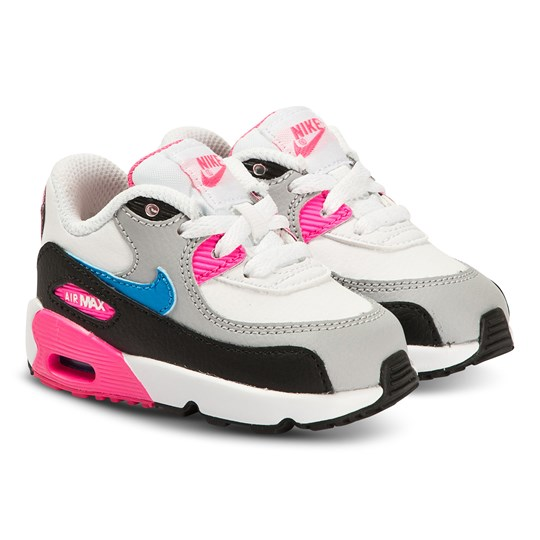 NIKE Nike Infiants Air Max 90 Trainers (White Black Pink