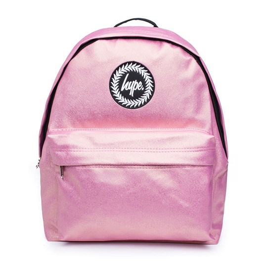 Hype Glitter Backpack Pink Pink