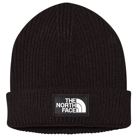 The North Face Knitted Logo Beanie Black JK3