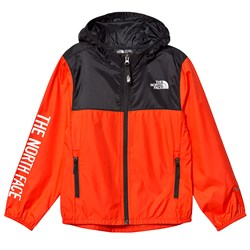 The North Face Reactor Wind Jacket Color Block Red/Black