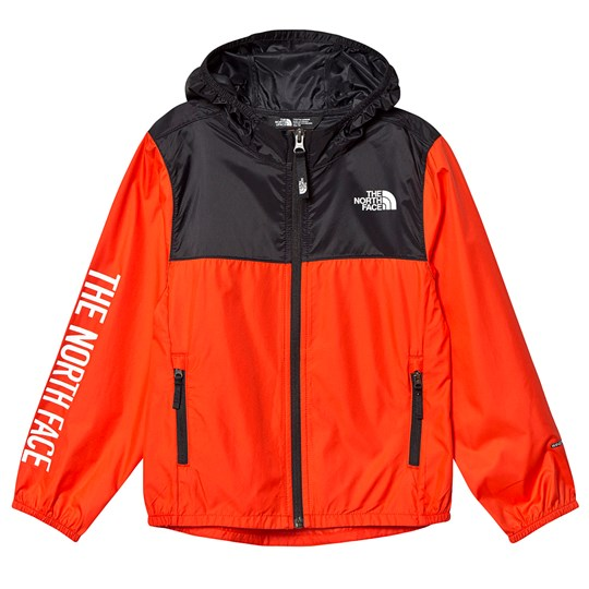The North Face Reactor Wind Jacket Color Block Red/Black 15Q