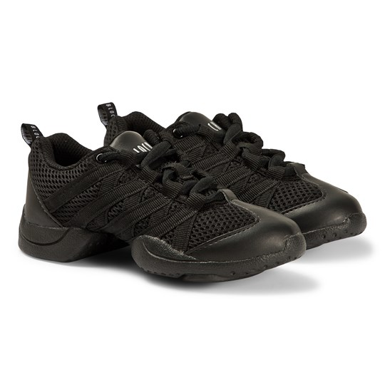 Bloch Criss Cross Split Sole Dance Sneakers Black Black