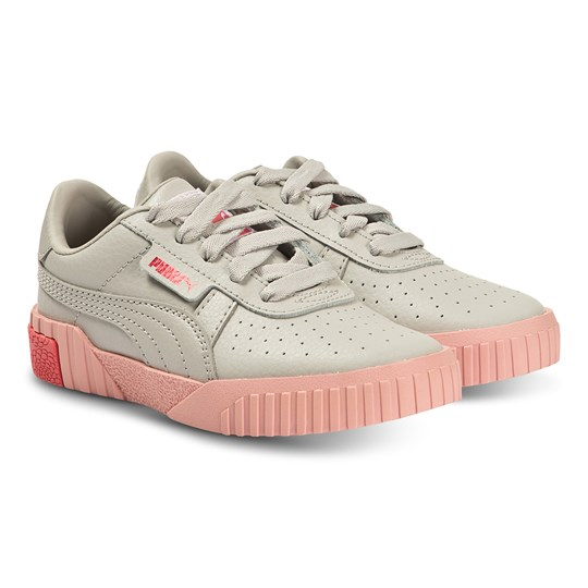 Puma Cali Sneakers Grey and Pink GRAY VIOLET-CALYPSO CORAL