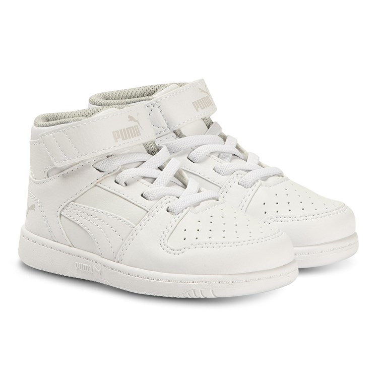 Puma Rebound Layup Infants Sneakers White Babyshop.no
