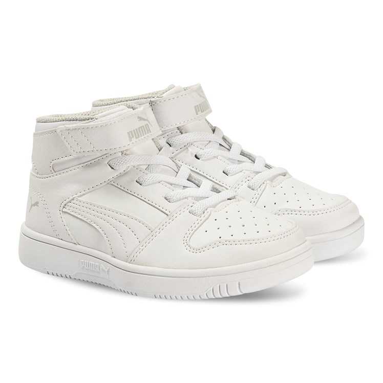 Puma Rebound Layup Sneakers White Babyshop.no
