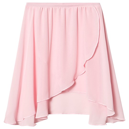 Bloch Cross-Over Ballet Skirt Pale Pink Pale Pink
