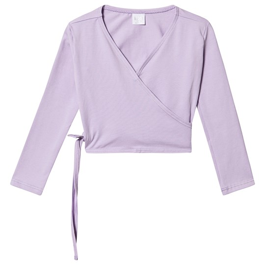 Bloch Wrap Top Lilac Lilac