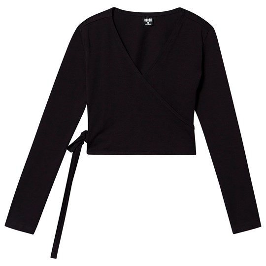 Bloch Wrap Top Black Black