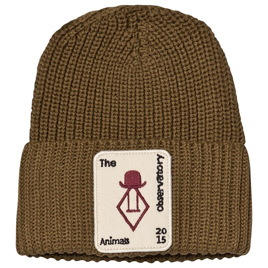 The Animals Observatory Plain Pony Baby Beanie Military Green Military Green