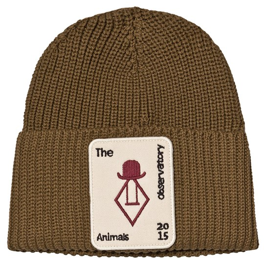 The Animals Observatory Plain Pony Beanie Military Green Military Green