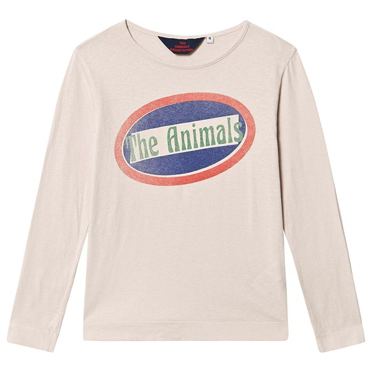 The Animals Observatory ÅleT-Shirt Mauve Dyr Mauve The Animals