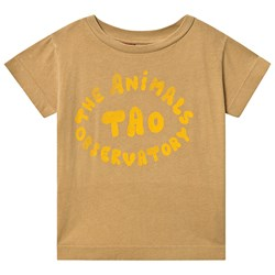 The Animals Observatory Rooster T-Shirt Khaki The Animals