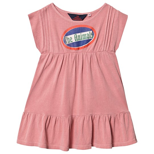 The Animals Observatory Robin Dress Pink The Animals Pink The Animals