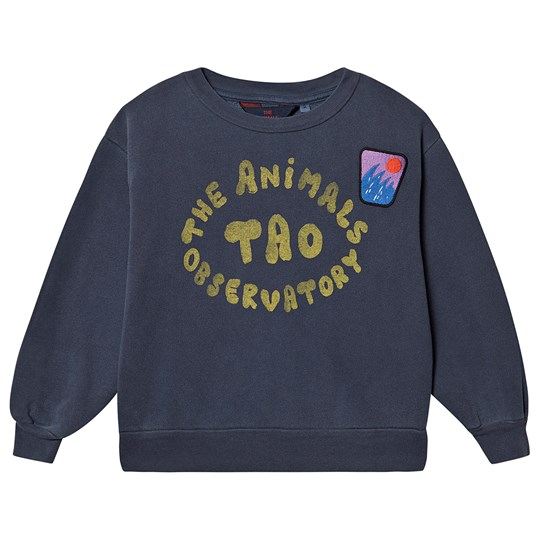 The Animals Observatory Bear Sweatshirt Blue The Animals Blue The Animals