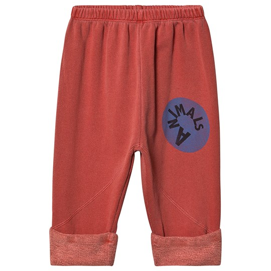 The Animals Observatory Magpie Baby Pants Red Animals Red Animals
