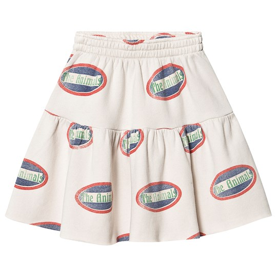 The Animals Observatory Cat Skirt White Animals White Animals