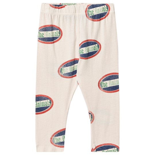 The Animals Observatory Penguin Baby Leggings White Animals White Animals