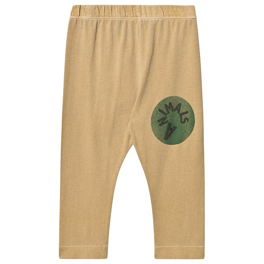 The Animals Observatory Penguin Baby Leggings Khaki Animals Khaki Animals