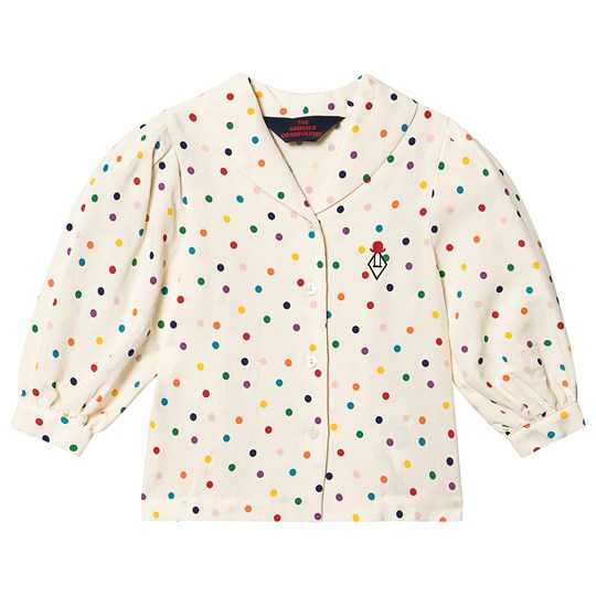 The Animals Observatory Gadfly Shirt Raw White Dots Raw White Dots