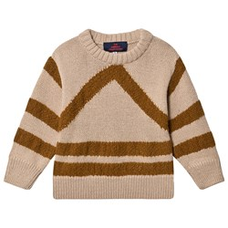 The Animals Observatory Bull Sweater Soft Beige