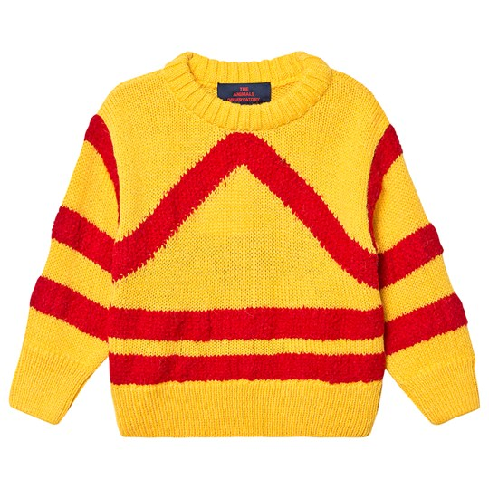 The Animals Observatory Bull Sweater Yellow Yellow