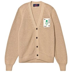 The Animals Observatory Plain Racoon Cardigan Light Brown