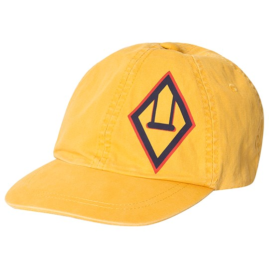 The Animals Observatory Logo Hamster Cap Yellow Yellow Logo