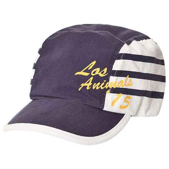 The Animals Observatory Stripes Hamster Cap Blue Los Animals Blue Los Animals