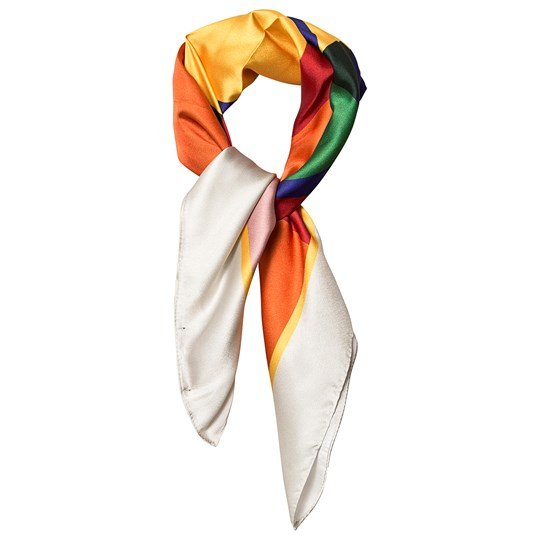 The Animals Observatory Ray Scarf Multicolor Geometric Multicolor Geometric