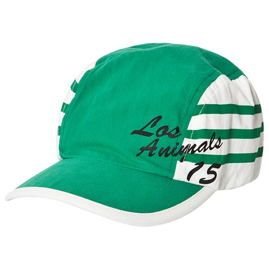 The Animals Observatory Stripes Hamster Cap Green Los Animals Green Los Animals