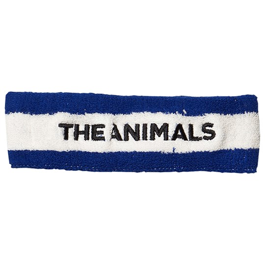 The Animals Observatory Headband Blue Blue Embrodiery