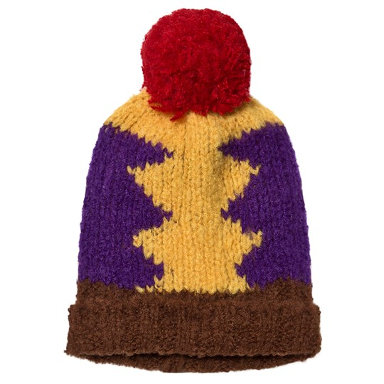 The Animals Observatory Blow Pony Beanie Gul Yellow