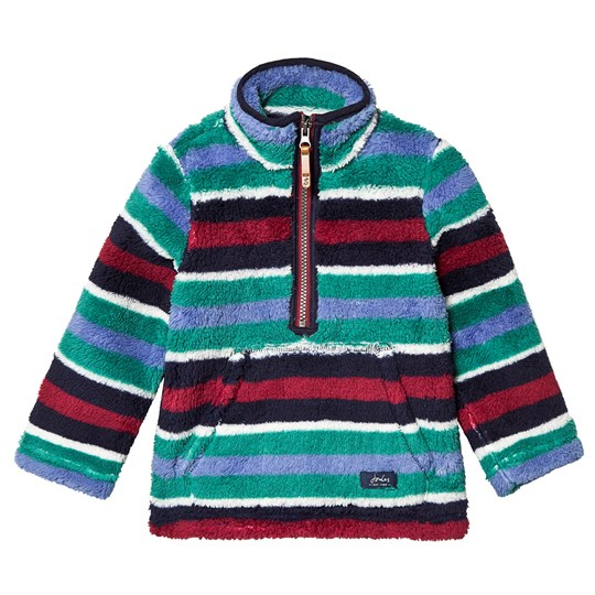 Tom Joule Woozle Half Zip Sweatshirt Multicolor NAVY MULTI STRIPE