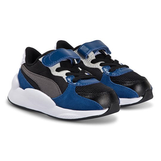 Puma 9.8 Space Infant Sneakers Black and Blue PUMA BLACK-GALAXY BLUE
