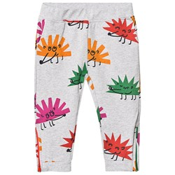 Stella McCartney Kids Happy Hedgehog Sweatpants Grey