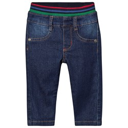 Paul Smith Junior Pull Up Denim Jeans Blå