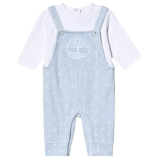 Timberland Logo One-Piece Pale Blue Velour 781