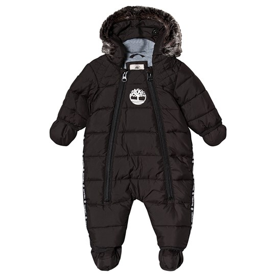 Timberland Coverall with Mittens and Booties Black 09B