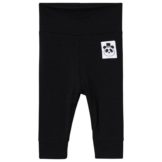 Mini Rodini Basic Newborn Leggings Sort Black
