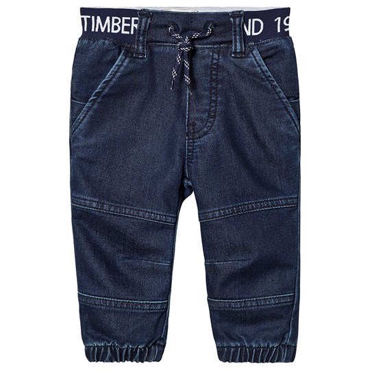 Timberland Pull Up Jeans Blue Denim Z10