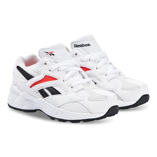 Reebok Aztrek Sneakers Vit WHITE/PORCELAIN/NEON RED