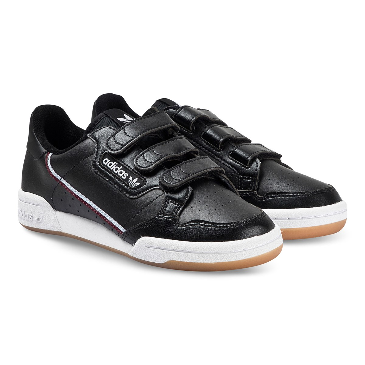 Continental 80 Velcro Sneakers Black