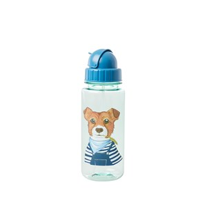 Image of Rice Drinking Bottle Green Farm Animals Print One Size (1469032)
