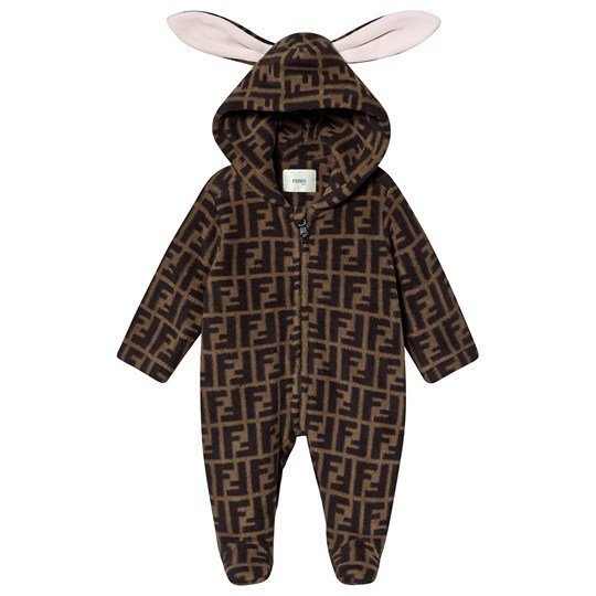 Fendi Bunny Footed Baby Body Brown F0E0X
