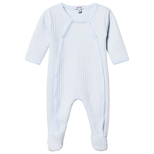 Absorba Quilted Footed Baby Body Pale Blue 41