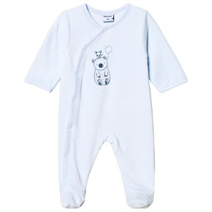 Bilde av Absorba Bear And Mouse Footed Baby Body Pale Blue 6 Months