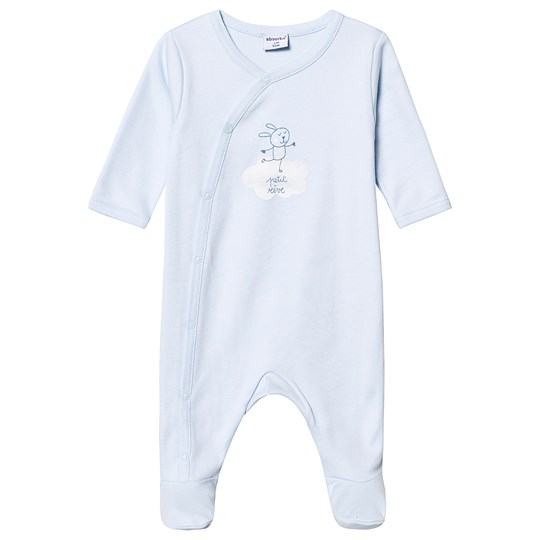 Absorba Cloud Bunny Footed Baby Body Pale Blue 41