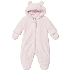 Absorba Faux Fur Coverall Pale Pink